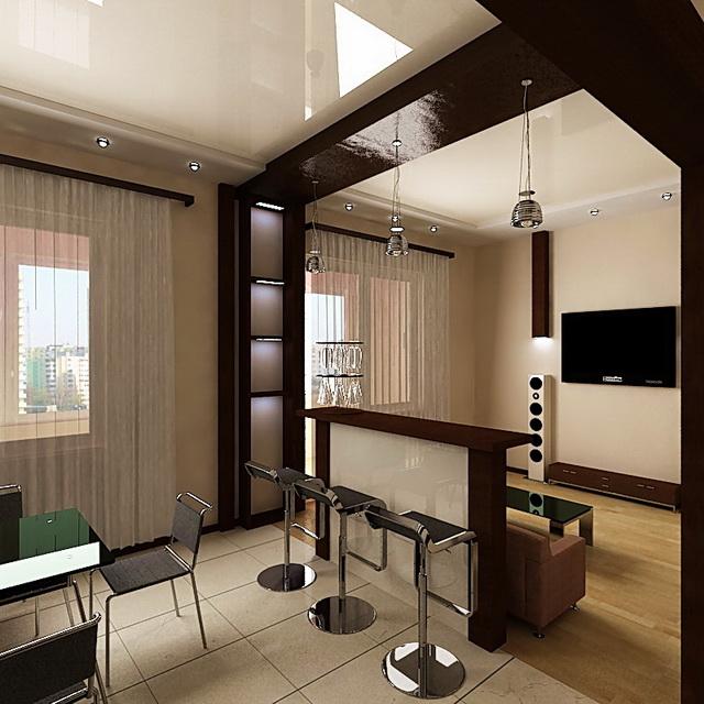 Дизайн и интерьер гостинной