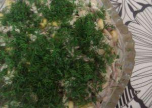 лесная опушка салат