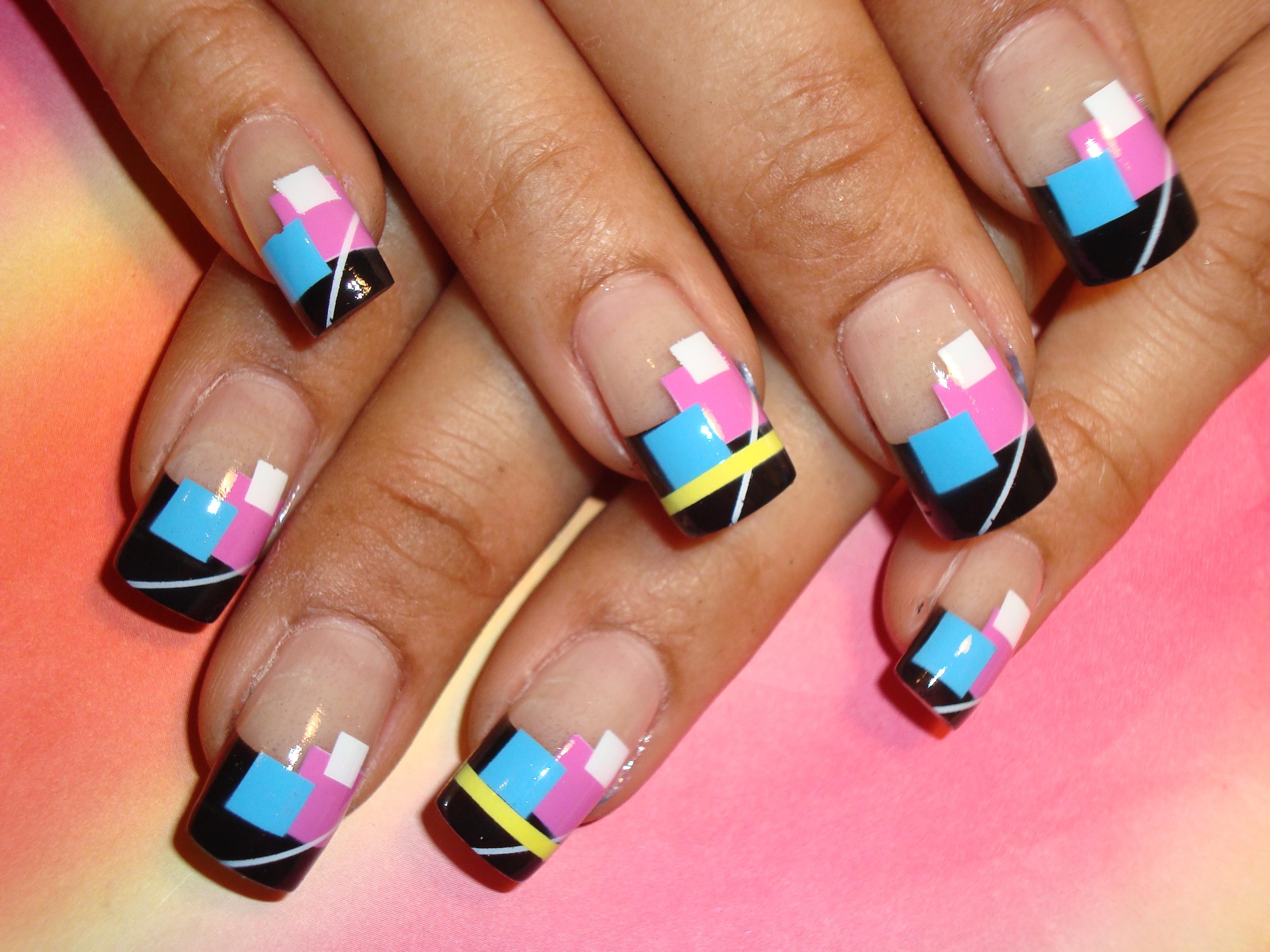 Фото рисунков на ногтях на лето