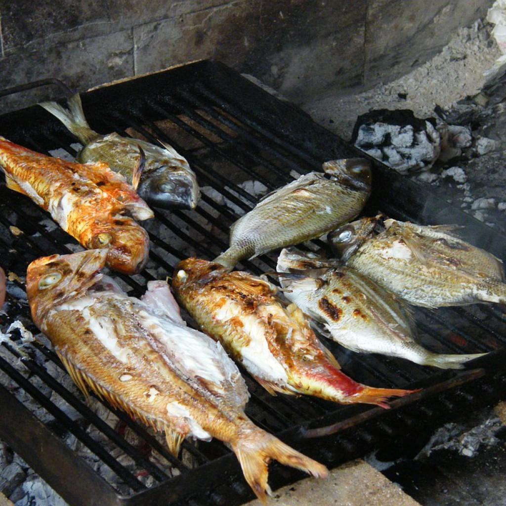 Рыба на мангале фотоы