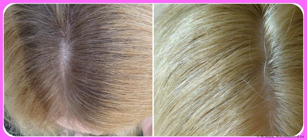 Осветляющая крем краска для волос капус