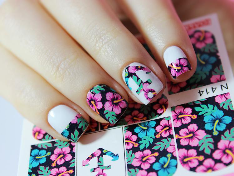 Как наносить дизайн на ногти