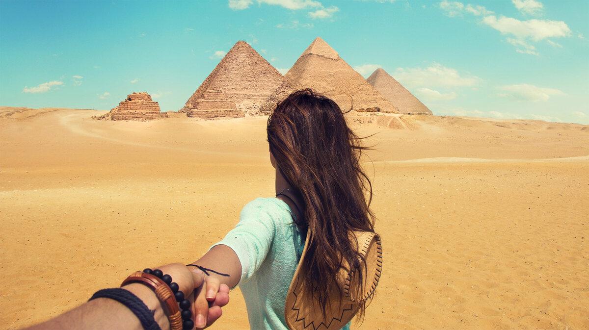 ура открыли Египет